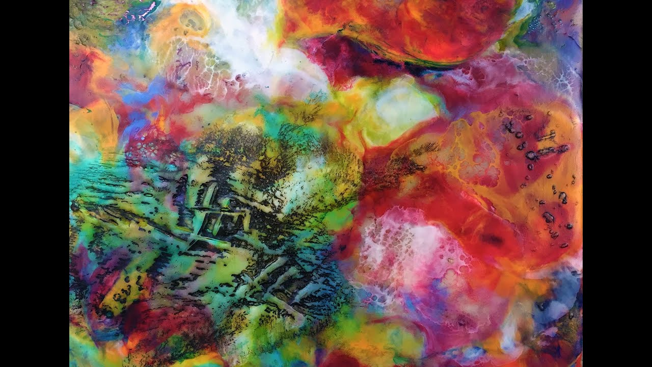 Encaustic Painting Building Texture with Dry Brushing YouTube