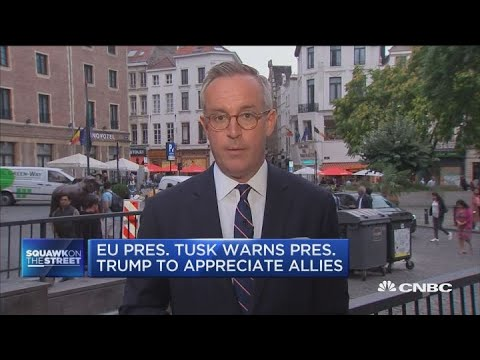 NATO Summit tensions heat up with US allies