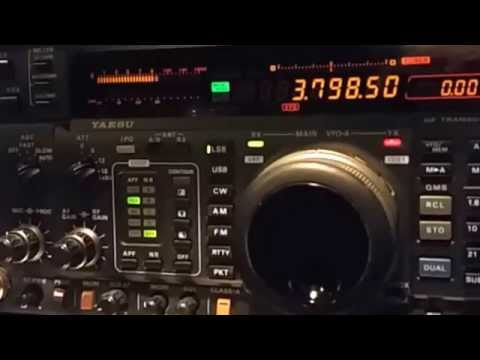 Ham Radio - Listening Out For Night Time Activity On HF & LF Bands
