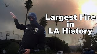 Los Angles battles Largest Fire in History