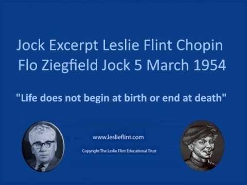 Jock Excerpt Leslie Flint Chopin Flo Ziegfield Jock 5 March 1954