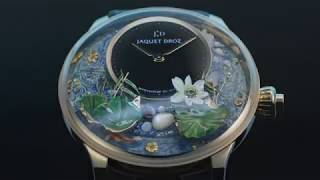 MAGIC LOTUS AUTOMATON BLOOMS FROM THE NATURALIST ROOTS OF JAQUET DROZ