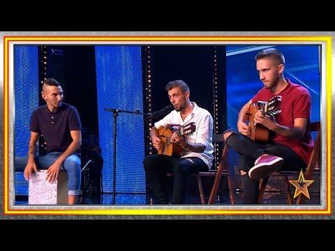 Estos MÚSICOS CALLEJEROS buscan la oportunidad de su vida | Audiciones 7 | Got Talent España 2019