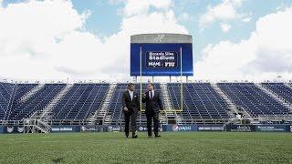 Riccardo Silva Stadium - Media Announcement