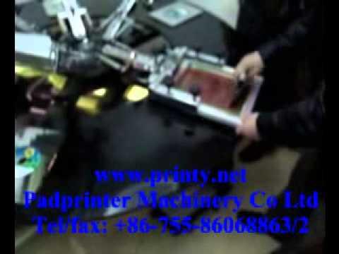 CD DVD 5 Color Screen Printer,Manufacture Wholesale CD DVD Silk Screen Printing Machine Equipment