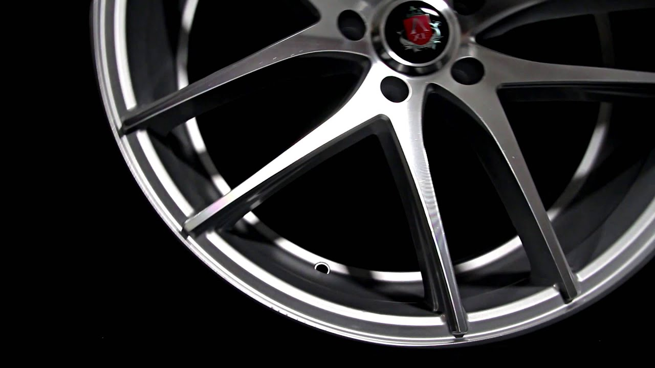 Axe Ex19 Silver Polished Concave Alloy Wheels Youtube