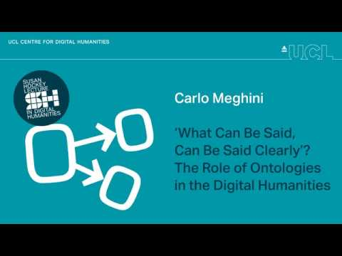 Il Ruolo Delle Ontologie Nelle Digital Humanities