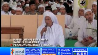 Pembukaan Maulid Simtud Duror oleh Al Habib Lutfi bin Yahya Pekalongan