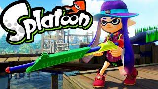 Splatoon Wii U Gameplay Splaturday Night LIVE! Bento Bootcamp Charger Stream Online Walkthrough HD