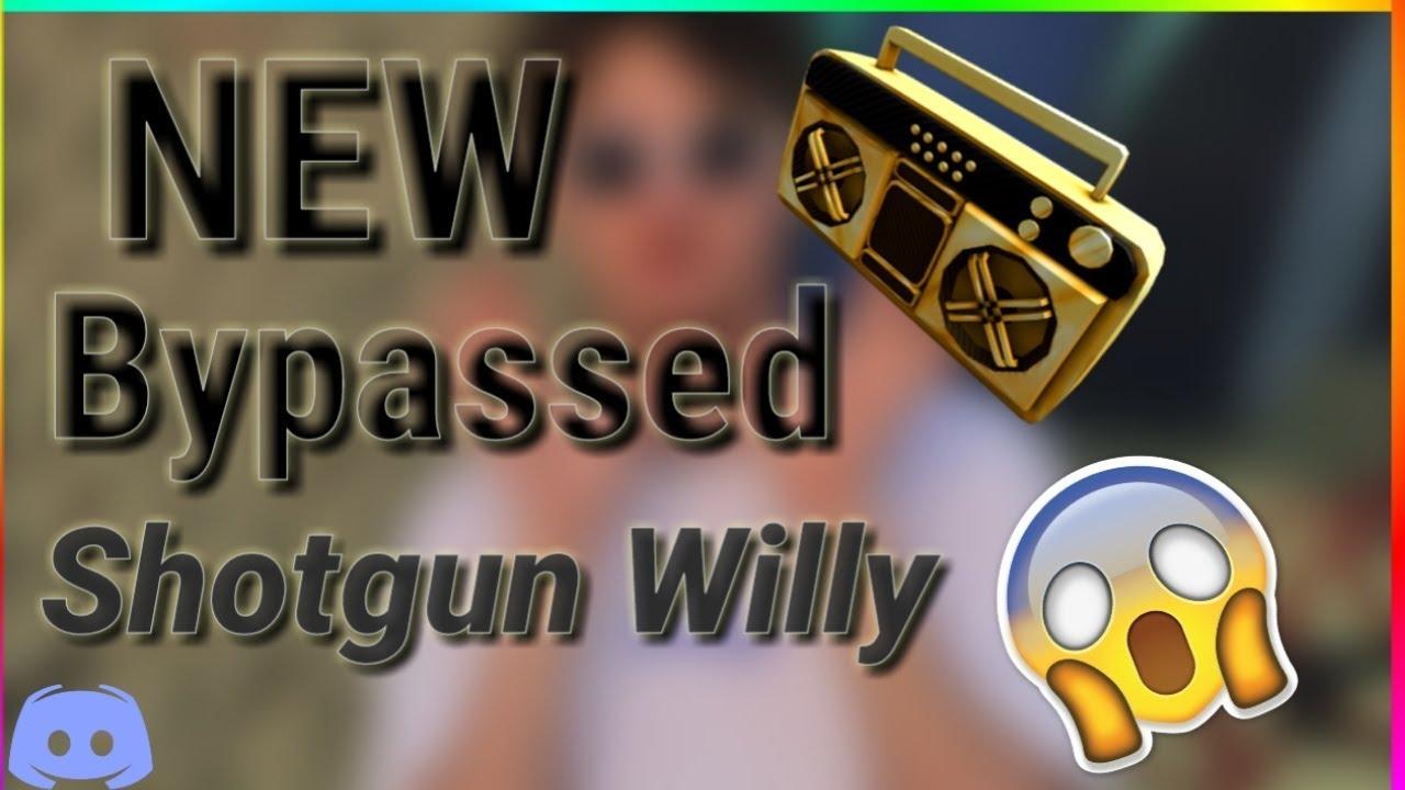 Shotgun Willy Wendy Roblox Id