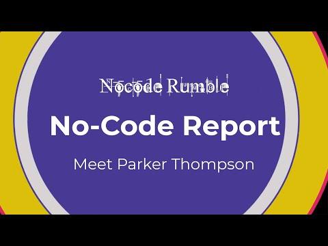 𝗠𝗲𝗲𝘁 𝗣𝗮𝗿𝗸𝗲𝗿 𝗧𝗵𝗼𝗺𝗽𝘀𝗼𝗻 • Nocode.Report