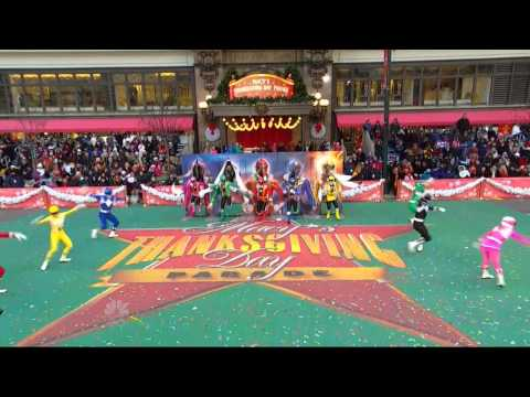 Power Rangers LIVE at the Macy's Thanksgiving Day Parade!