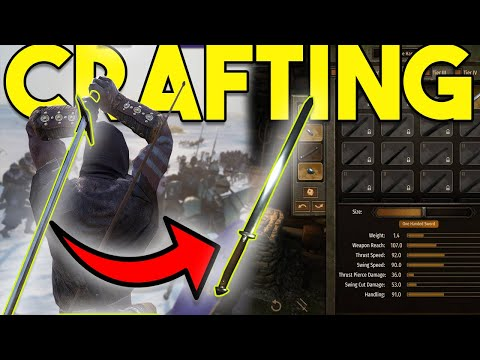 The ULTIMATE Guide To SMITHING/WEAPON CRAFTING IN BANNERLORD!