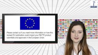 SIEMIC News - EU Commission Revises R&TTE Directive Harmonized Standards Listing