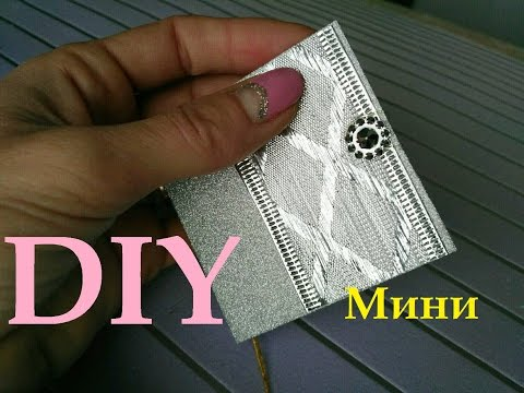 Смотреть DIY МИНИ БЛОКНОТ с нуля БЕЗ СШИВАНИЯ   Mini notebooks.