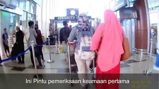 tutorial / cara naik pesawat terlengkap dari bandara sultan syarif kasim II pekanbaru - jakarta