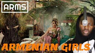 Արտասահմանցու ռեակցիան || Iveta Mukuchyan - Armenian Girls █▬█ █ ▀█▀|| (REACTION)