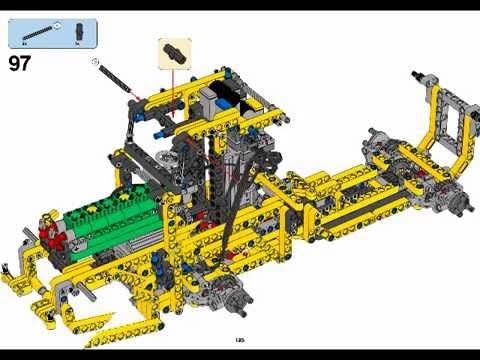 lego technic volvo 42030 b model building instructions. Black Bedroom Furniture Sets. Home Design Ideas