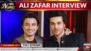 Ali Zafar In BOL Nights With Ahsan Khan   7th November 2019   BOL Entertainment