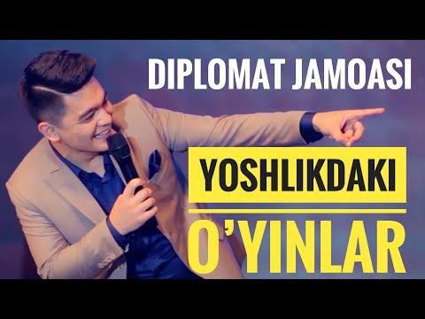YOSHLIKDAKI HAZIL O'YINLAR - DIPLOMAT JAMOASI