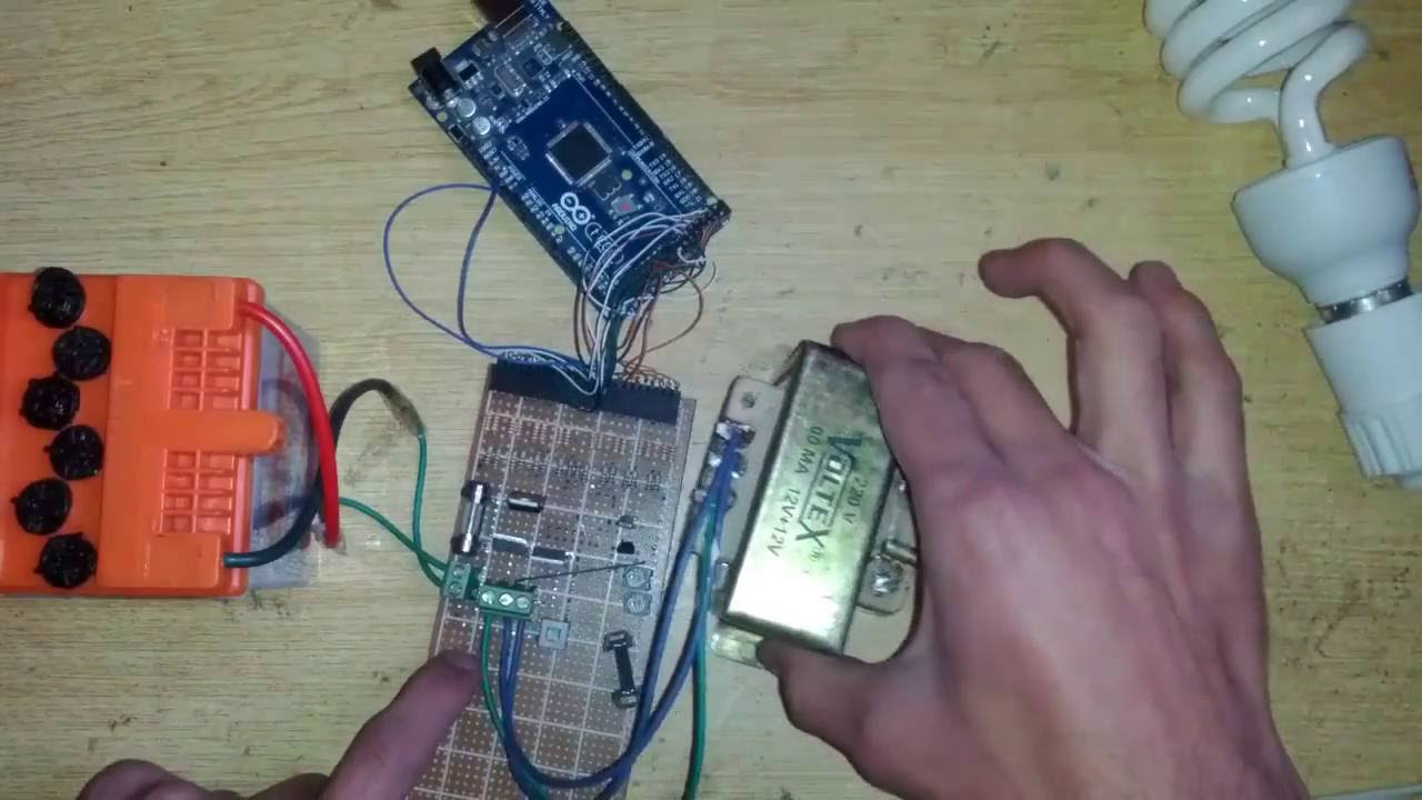 Sine Wave Inverter Using Arduino Mega 2560 Youtube 300 Watts Pwm Controlled Pure Circuit With Output