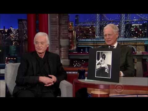 Jimmy Page 2014106 David Letterman