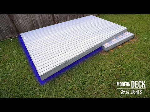 Building a deck - Composite Deck installation