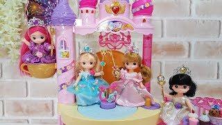 Baby doll Pink Castle and Princess Dress Jewelry Accessories Gaun boneka  vestido de muñeca 7b489c6c12