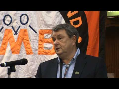 Paul McCarthy Regional Secretary opens the 2015 GMB Campaigns for Justice