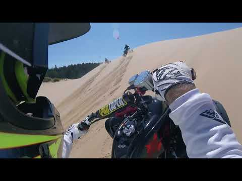The guy's hitting Spinreel dunes at the Oregon Coast