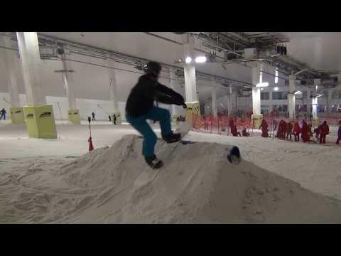 Freestyle Snowboard Coaching Day Course - Feb 2018 - Snozone Milton Keynes