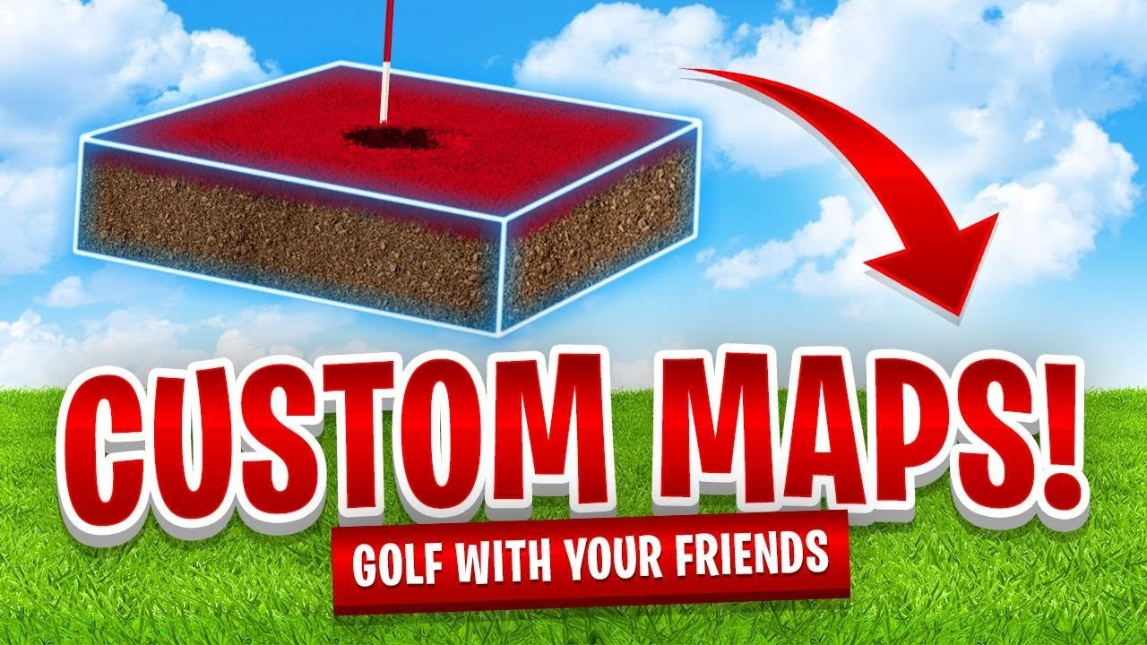 how to get custom maps on golf it