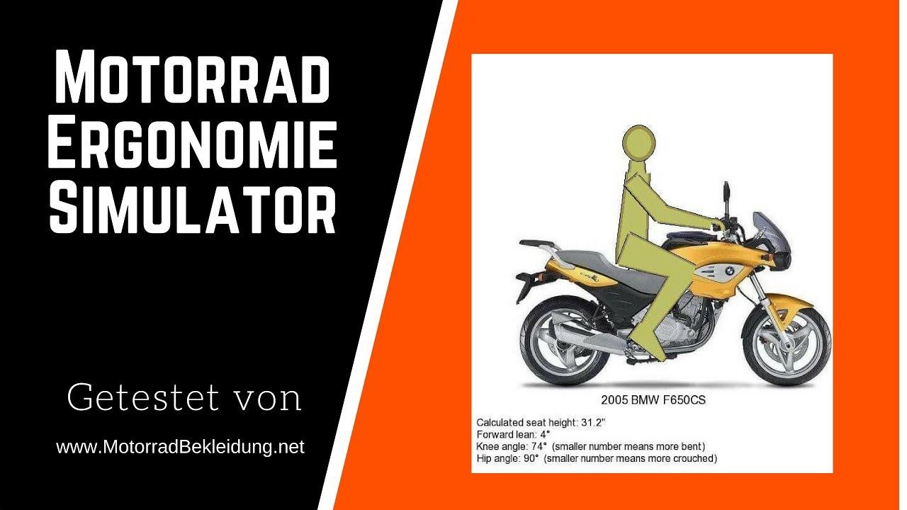 Motorrad Simulation