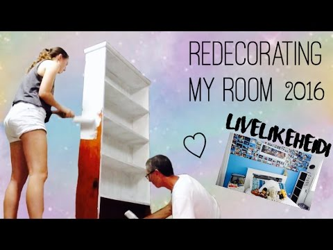 Redecorating My Room redecorating my room! - youtube
