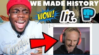 We made history!!!! by PewDiePie REACTION!!