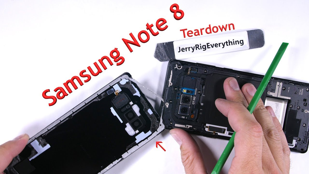 Note 8 Teardown Screen Replacement Battery Swap Youtube Average Cost Of Rewiring A Three Bedroom House