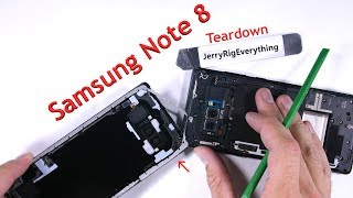 Note 8 Teardown - Screen Replacement, Battery swap