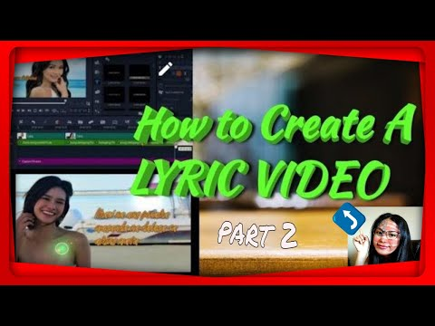 How To Create A Lyric Video | Corel Video Studio