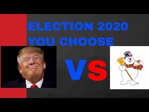 Election Night 2020 Frosty The snowman Vs Trump