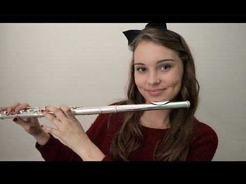 ASMR Whispering To My Flute - Songs From Movies!