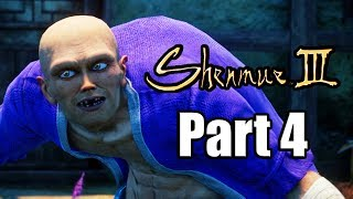 SHENMUE 3 Gameplay Walkthrough Part 4 - No Commentary [PS4 PRO 1080p]
