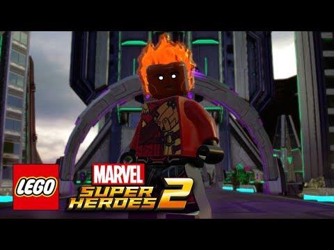 LEGO Marvel Super Heroes 2  How To Make Firestorm Jefferson Jackson