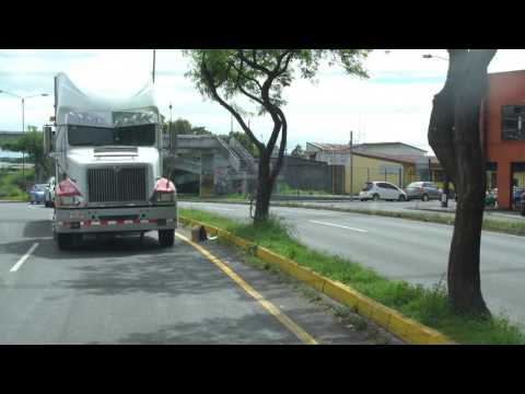 Free Stock 4K: Tráfico vehicular  (Traffic Jam Costa Rica)