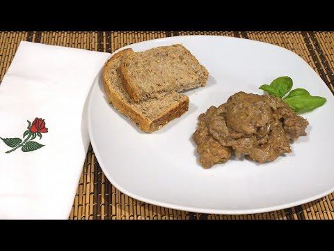 Рецепт Нежнейшая куриная печёнка - рецепт из Тосканы_Chicken liver, Tuscany style