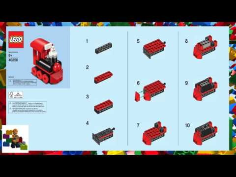 Lego Instructions Monthly Mini Model Build 40250 Train 12