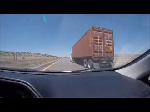 Arizona United States Interstate 40   TIMELAPSE    TRAVELING   GOPRO HERO 4   DASHCAM