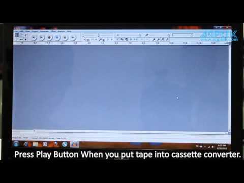 AGPtek iT39 USB Cassette to MP3 Converter Capture