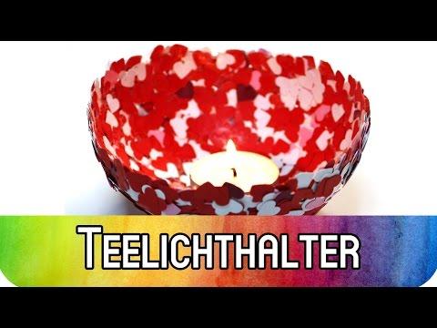 DIY Valentinstag: #Grenzgenialer Teelichthalter für romantische Anlässe | kreativBUNT