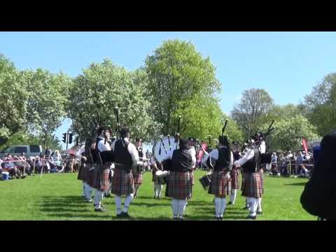 Syerla & District Pipe Band @ Ards & North Down Pipe Band Championships 2016