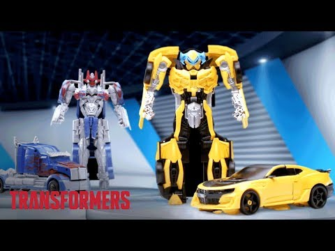 Transformers: The Last Knight - 'Bumblebee Knight Armor Turbo Changer Action Figure' TV Commercial
